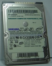 """Samsung Spinpoint M40 MP0402H 40GB IDE 44pin 2.5"""" 9.5mm Hard Disk Drive NEW"""
