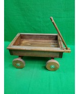Vintage Wood Doll Wagon ~ Hand Made ~ J&J Products ~ Tucson, AZ - $35.49