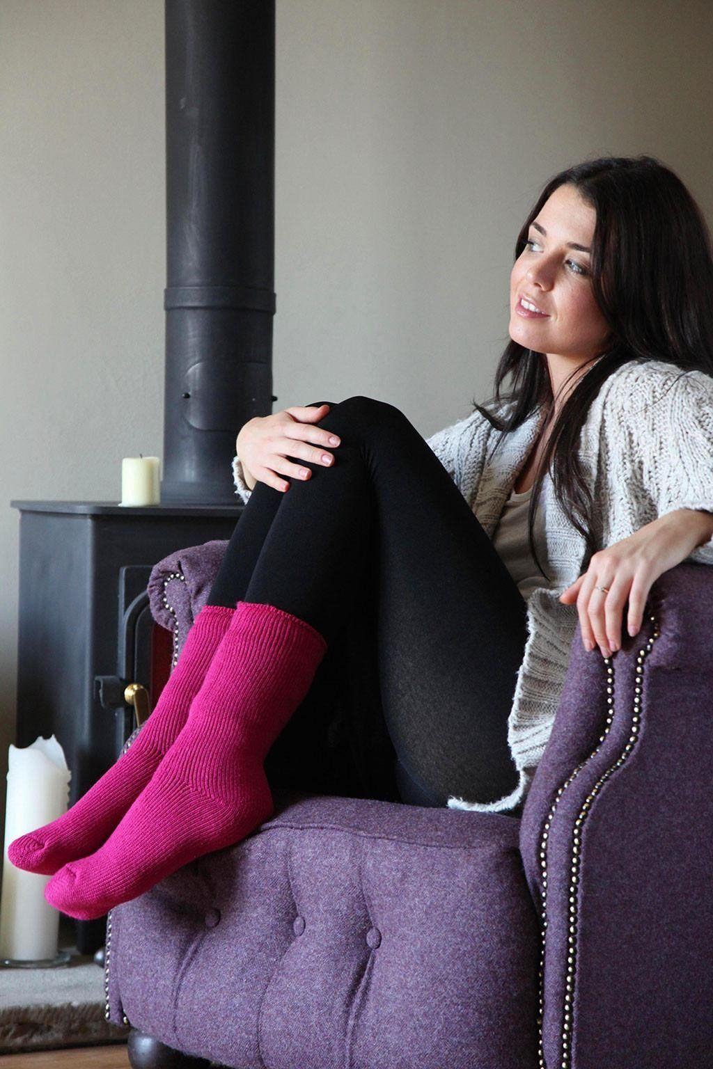 Heat Holders - Donna calzini termici invernali caldo colorati in 25 stile