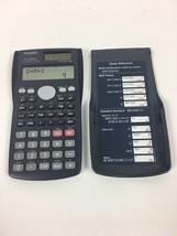 Casio FX-300MS Scientific Solar Calculator With Cover - $8.60