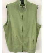 Bobby Jones M Meadow Green Golf 100 percent Pima Cotton  Vest NWT - $21.23