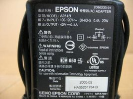 Epson AC Adapter A251B - $23.76