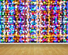 Abstract Coloured Lights Backdrop Wall Art Mural Wall Paper Self Adhesive Vinyl* - $43.11+