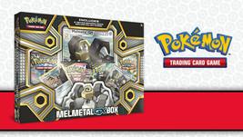 Melmetal GX Box Collection Pokemon TCG 4 Booster Packs + Promo Sun Moon ... - $20.99