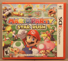 Mario Party Star Rush (Nintendo 3DS 2016) Y-Fold Sealed ***BRAND NEW*** Red Case - $149.95