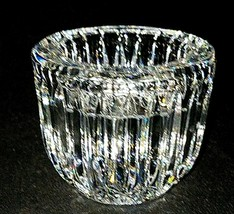 1 (One) Waterford Giftware Cut Lead Crystal Votive Candle Holder - Signed - $30.39