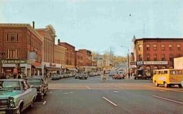 Main Street Cars Drug Store Southbridge Massachusetts postcard - $6.44