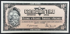 Vintage 1974 Canadian Tire 10 Cents Note ***Crisp Uncirculated*** CTC-S4... - $6.44