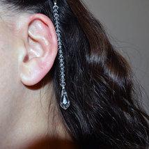 Crystal Teardrop Hair Jewel image 2