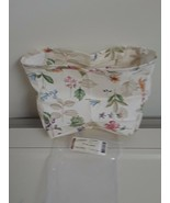 Longaberger Small Wall Pocket Basket Botanical Fields Fabric OE Liner Only - $9.85