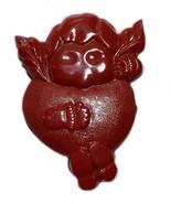 Vintage Valentine's Day Cupid Heart Pin Brooch - $14.25