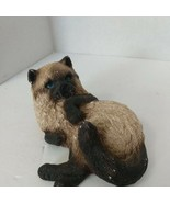 """Vintage 1985 Whiskers Cat Figurine 5"""" by Martha Carey Marty Made in USA - $7.82"""