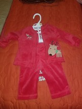 First Impressions Baby Girl 3 Piece Holiday Set Size 3-6 Month - $14.99