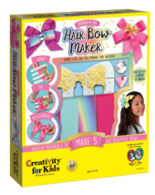 Faber-Castell Creativity for Kids Designed By You Hair Bow Maker DIY Caft Kit image 1