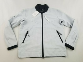 new NIKE TECH PACK men jacket standard fit AR1578-043 icy off white sz S... - $59.39