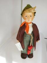 """15"""" Hummel Goebel 1983 Porcelain Boy Doll """"Lost Sheep"""" All Original - $38.99"""