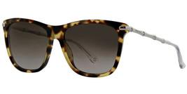 Gucci Women's Sunglasses GG3778 HRT Havana Brown Gradient Lens 55mm Authentic - $183.33