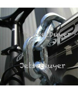"""Pewag Chain 8 ft Square Link 1/2"""" 12 mm Security Chain and Sleeve Motorbike - $232.65"""