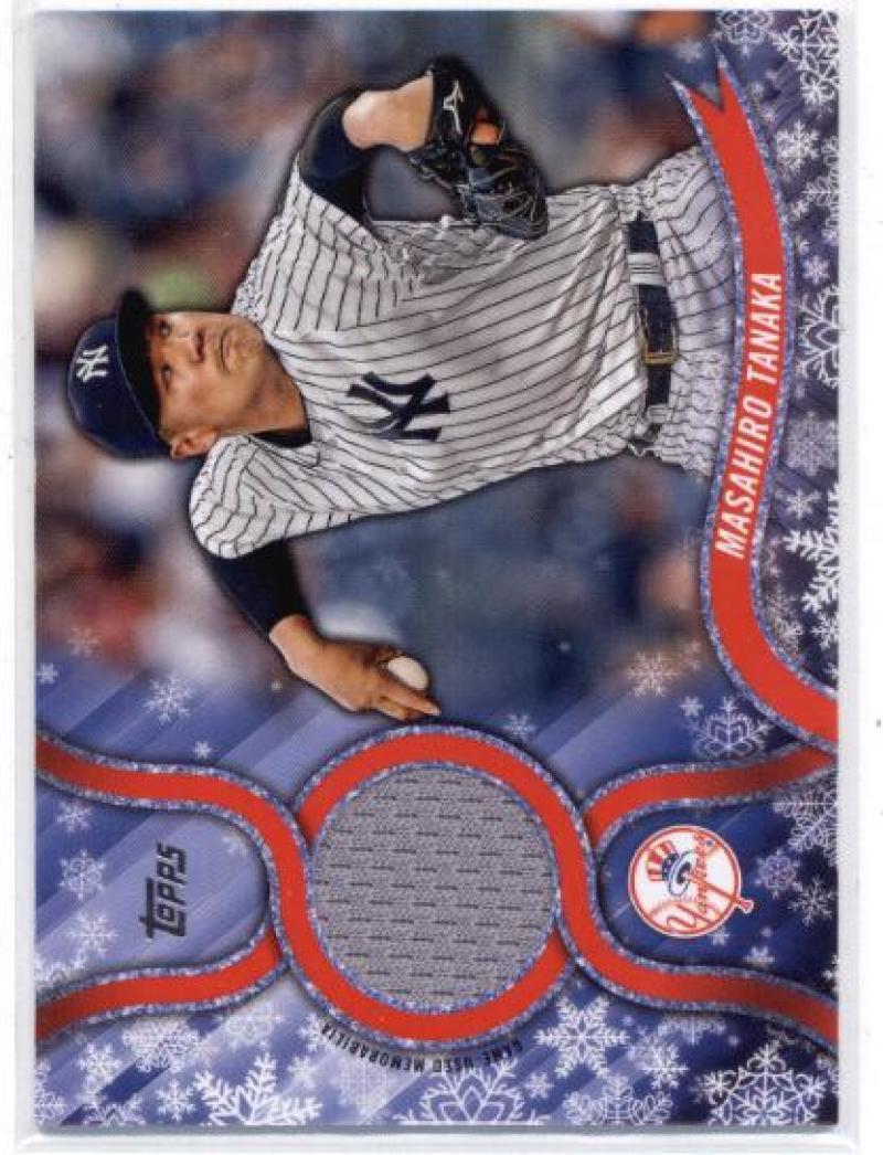 2018 Topps Holiday Relics Snowflakes #R-MT Masahiro Tanaka Yankees NM-MT (Memora - $6.00