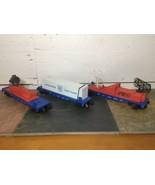Lionel O Gauge US Coastguard Car Lot 16734, 16960, and 16735.  Used  - $41.58