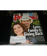 People Magazine - Brad Paisley & Kimberly Williams Cover -  April 19, 2021 - $5.93
