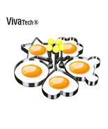 VivaTech® Stainless Steel Egg Shapes Mould for Perfect Egg [Gifts for Ki... - €10,16 EUR