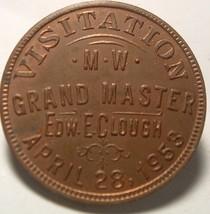 Masonic Token / Penny : RARE Wilmington Delaware 1953 Visitation Grand M... - $35.00