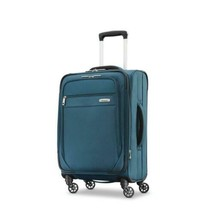 Samsonite Advena Softside Luggage with Spinner Wheels Teal  - $107.09