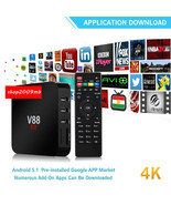 4K Android Smart Tv Box 1080P Smart Multimedia ... - $35.14