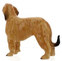 Hagen-Renaker Miniature Ceramic Dog Figurine Afghan Hound Pedigree Red image 3