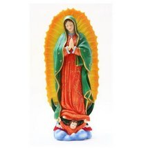 10.38 Inch Lady of Guadalupe Patron Saint Multicolor Statue Figurine - $33.65