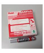 Pentel MAXIFLO MWL5M Whiteboard Marker (Medium Bullet Point) (12pcs) - Red - $28.99
