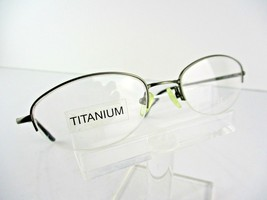 ID by Modo  Mod 507 TITANIUM (GUN) Gunmetal 50 X 19 Eyeglass Frame - $19.75