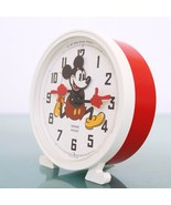 BAYARD MICKEY MOUSE French Vintage Alarm Clock Disney Mantel 1977 Motion... - $169.00