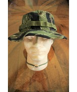 US ARMY TIGER STRIPE VIETNAM BDU RIPSTOP CAMO UNIFORM FLOPPY HAT BOONIE ... - $24.74