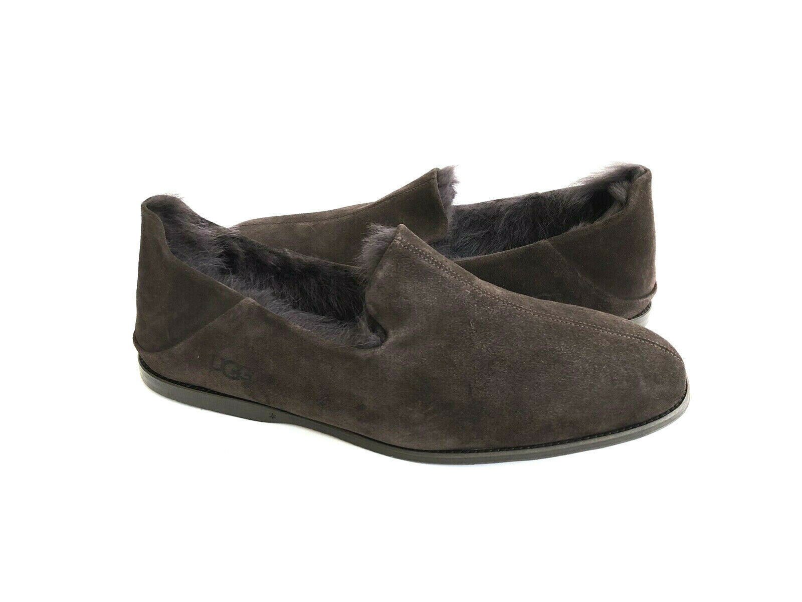 Primary image for UGG WOMEN CHATEAU STOUT SUEDE TOSCANA FUR SLIP ON SHOE US 7 / EU 38 / UK 5