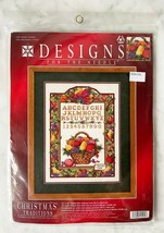 Designs For The Needle Christmas Traditions Winter Sampler Ctd Cross Sti... - $28.45