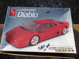 AMT Lamborghini Diablo 1/25 scale - $26.99