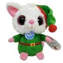Aurora Fennec Fox Elf Plush Musical Christmas Winter Jingle Bells Yoohoo... - $15.80