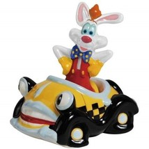 Walt Disney's Roger Rabbit in a Car Ceramic Salt and Pepper Shakers, NEW... - $25.15