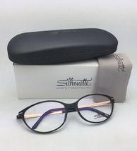 New SILHOUETTE Eyeglasses SPX 1578 75 9020 56-16 135 Black & Bronze Frames image 11