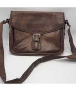 Coach Saddle Brown Leather Crossbody Messenger 5735 - $44.54