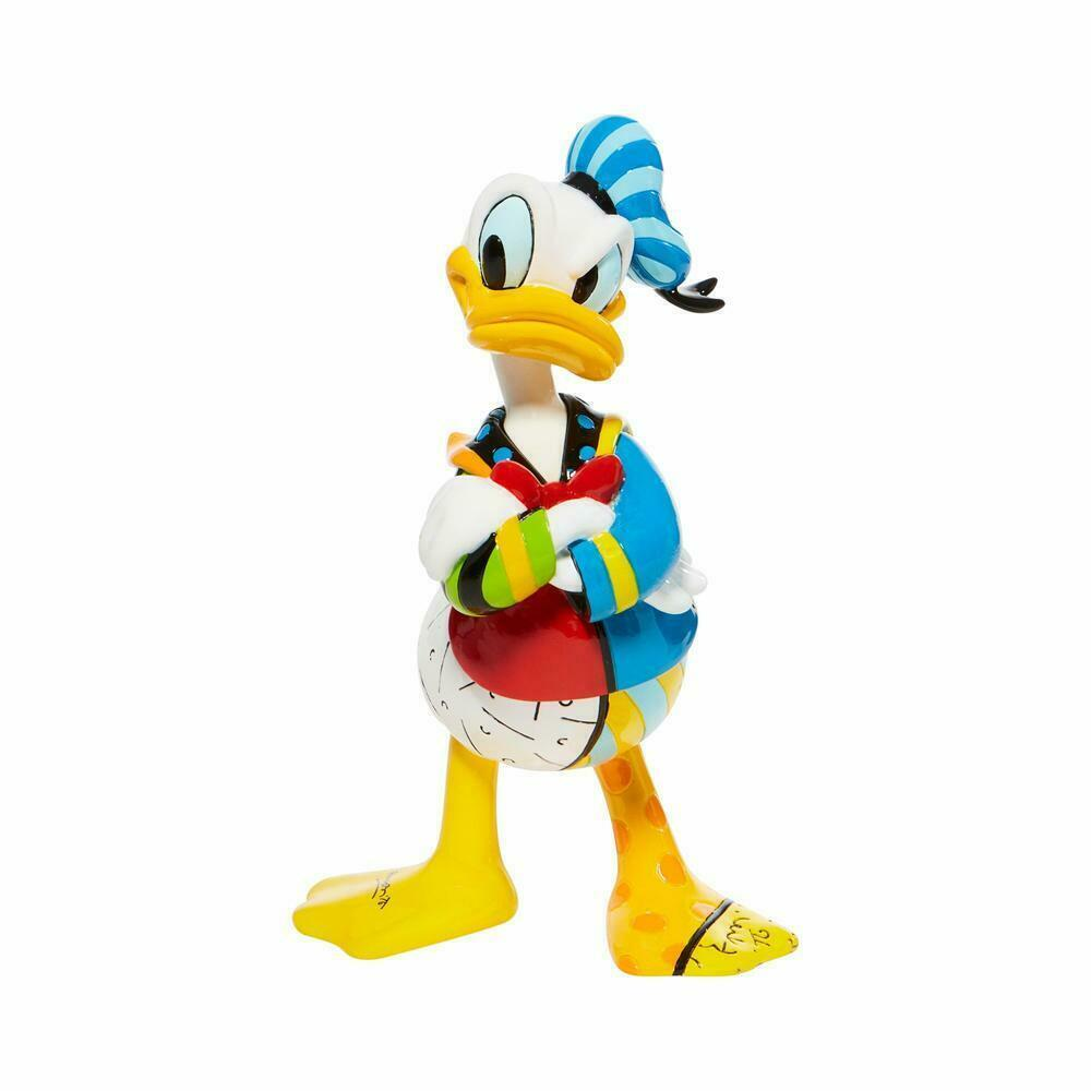"Adorable 7"" High Disney Britto Donald Duck Figurine Gift Boxed"