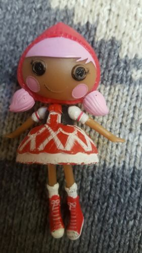 Little Red Riding Hood hard plastic toy doll • Pre-owned • So Cute - $5.45