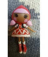 Little Red Riding Hood hard plastic toy doll • Pre-owned • So Cute - $5.46