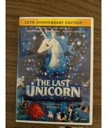 The Last Unicorn DVD 25th Anniversary Special Features Rated G Good Condition  - $25.00