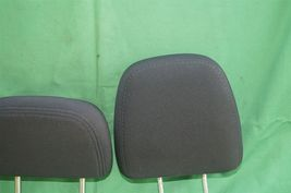 11-15 Dodge Journey 2nd Row Black Cloth 3 Headrests Headrest w/ Cupholder image 3