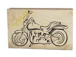 Motorcycle Rubber Stamp image 1