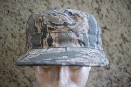 Usaf Us Air Force Current Issue Afghanistan Abu Camo Ripstop Patrol Cap 7 3/4 N - $18.80