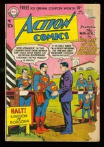 ACTION COMICS #233 1957-DC COMICS-SUPERMAN BORGONIA G- - $56.75